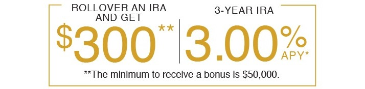 featured IRA promotion